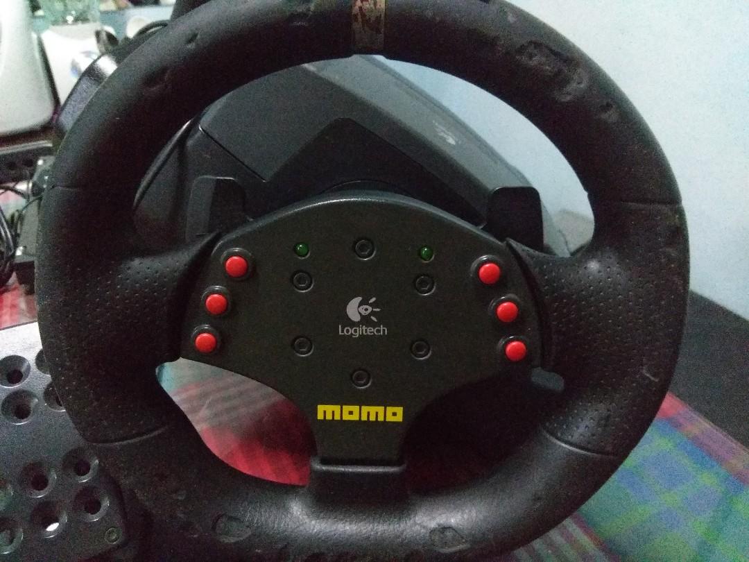 58bd61a2691 Logitech Momo Steering Wheel, Toys & Games, Video Gaming, Gaming ...