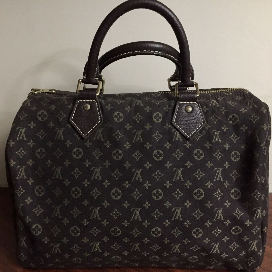 cd44c055a7aa LOUIS VUITTON Mini Lin Speedy 30 Ebene
