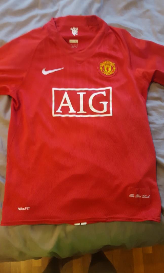 0ebc835e6 Manchester United 2007 jersey