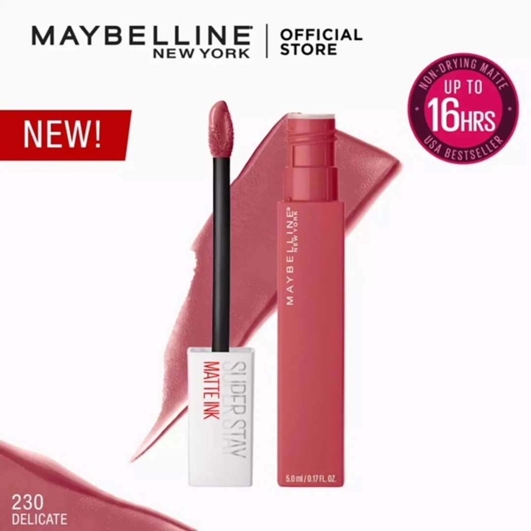 Maybelline Superstay Matte Ink City Edition Delicate Health