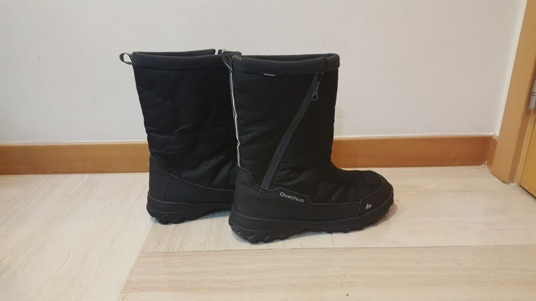 8f44d78bd35 Men's Insulated Waterproof Winter Boots Size 40