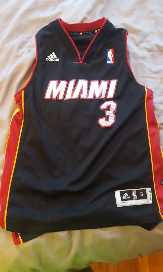timeless design e2830 fe009 Miami heat dwayne wade jersey