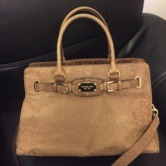 Michael Kors Ostrich Bag Luxury Bags