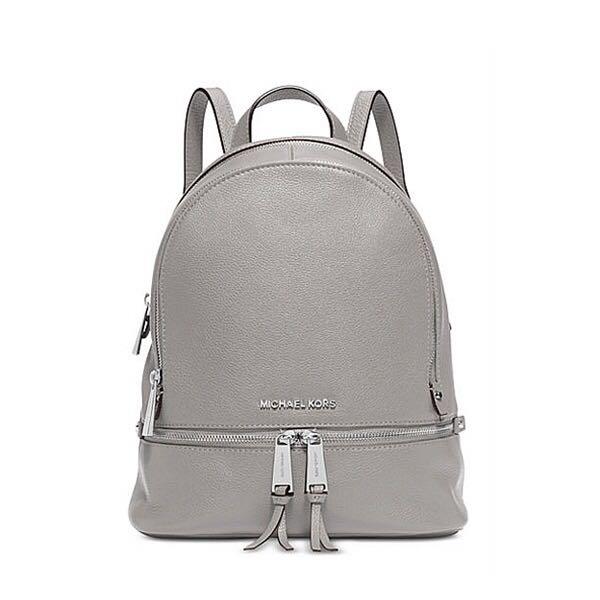 293eaed2ff0 Michael Kors Rhea Backpack Pearl Gray, Women s Fashion, Bags ...