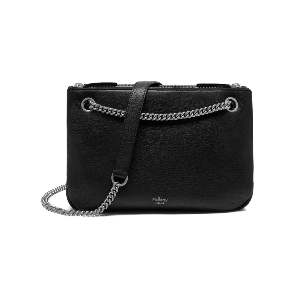ccf4330c91 Mulberry Winsley Two Way Black Leather Bag