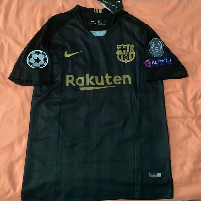 New Fc Barcelona Away Kit 2018 19 Ready Stock Top Quality