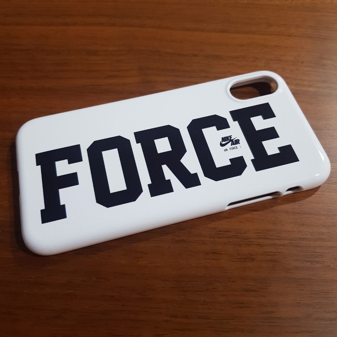 the latest f0167 95f8a Nike Air Force 1 iPhone XS Case