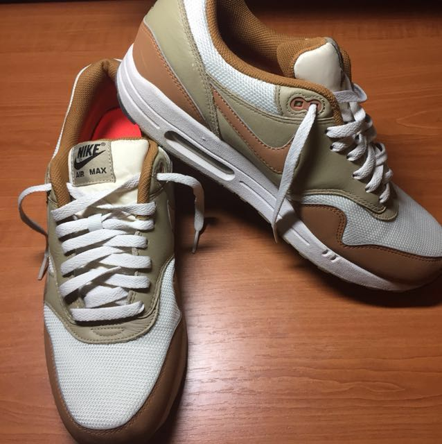 los angeles 9f56c 57790 Nike Air Max 1 Essential (Light brown leather), Men s Fashion ...