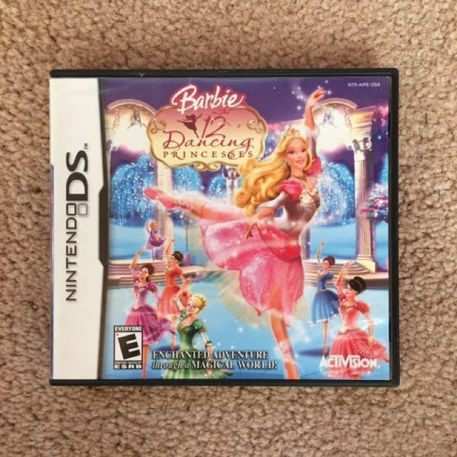Nintendo DS Game: Barbie in the 12 Dancing Princesses