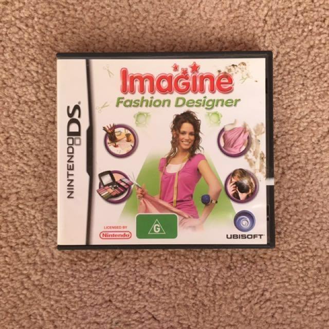 Nintendo Ds Game Imagine Fashion Designer Video Gaming Video Games On Carousell