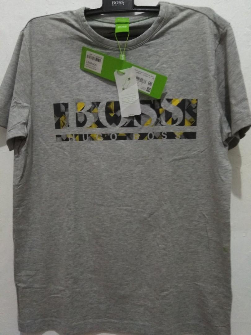 0e60b6d6 ORIGINAL T-shirt Hugo Boss GL, Men's Fashion, Men's Clothes, Tops on ...