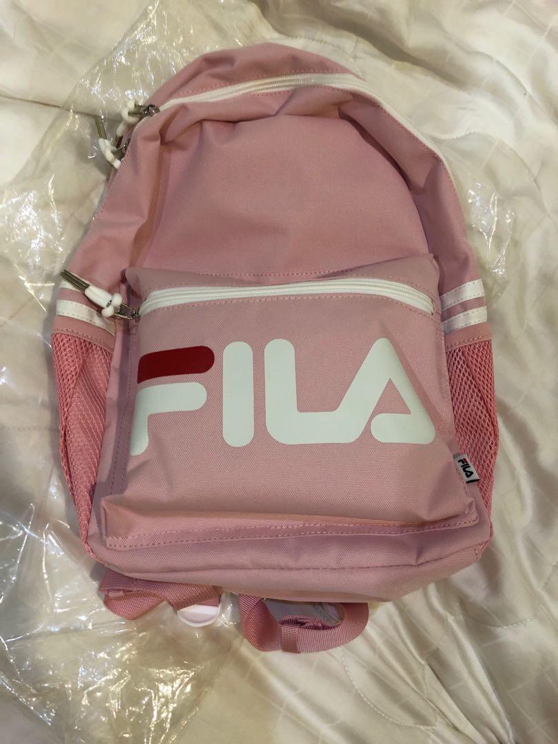 pink fila backpack BNWT