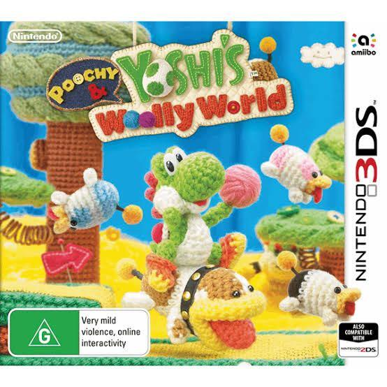 Poochy & Yoshi's Woolly World Bundle including two Amiibos