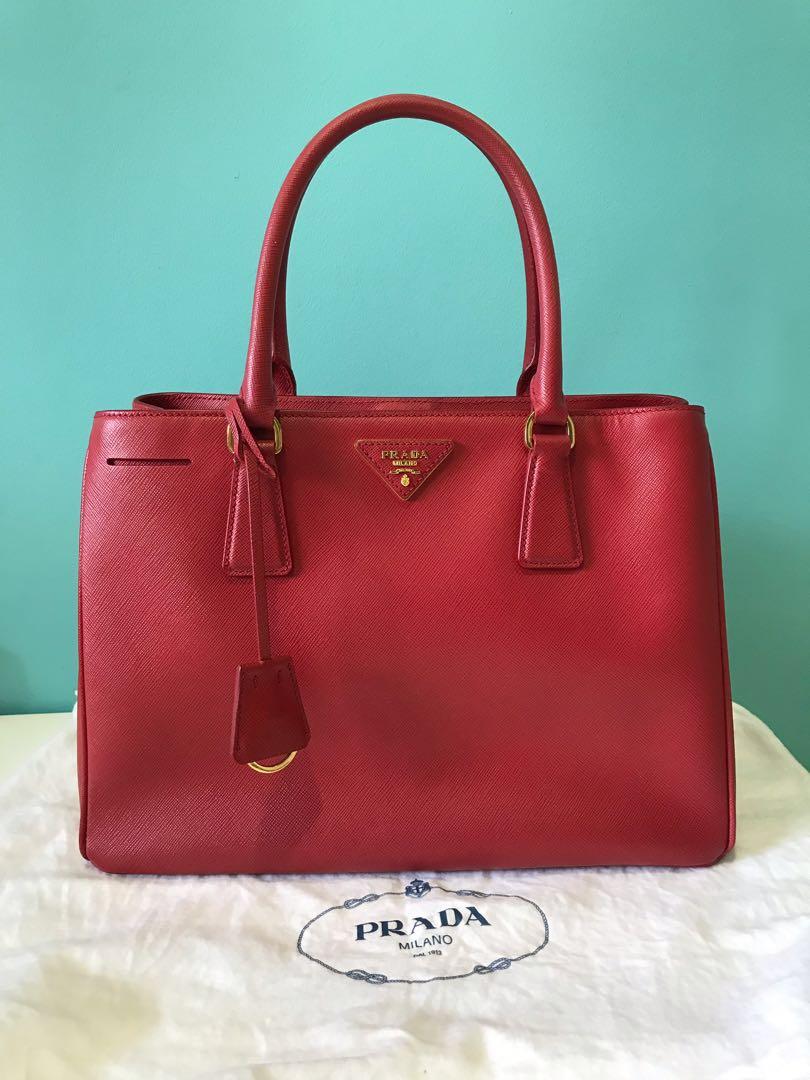 ... france prada saffiano lux tote bag bn1874 luxury bags wallets handbags  on carousell 3c3ac 8de28 e0714621ec8a2