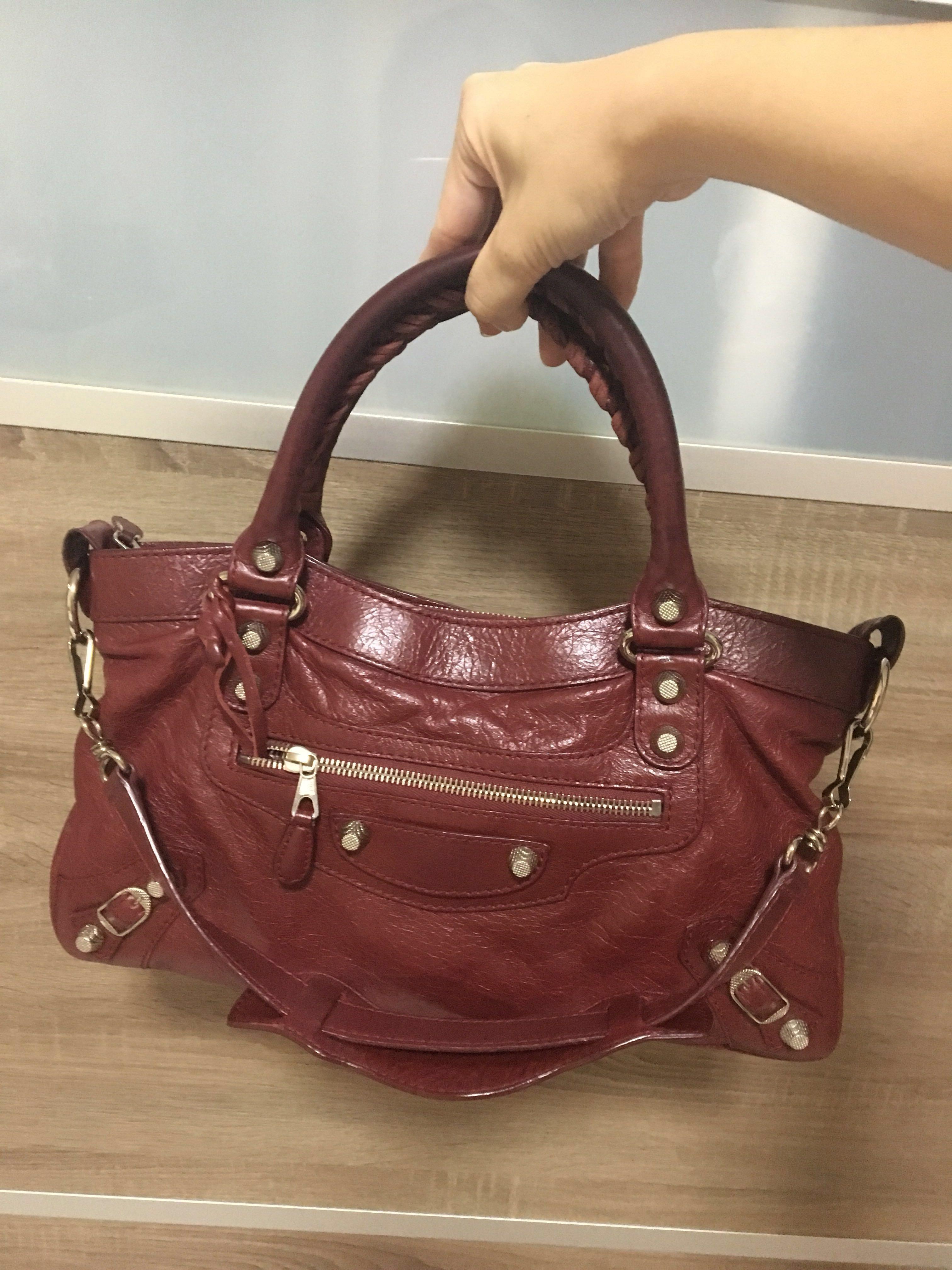 edde114b53 PRICE REDUCED - Balenciaga Classic First City bag, Women's Fashion, Bags &  Wallets, Handbags on Carousell