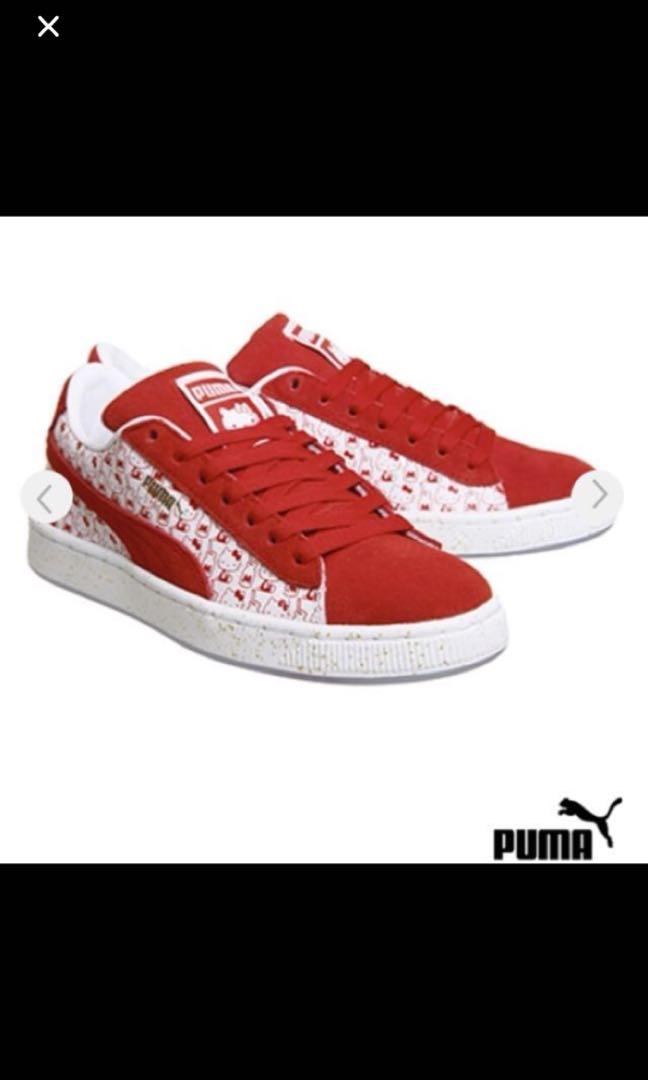 reputable site b15c5 8ad77 Puma x Hello Kitty