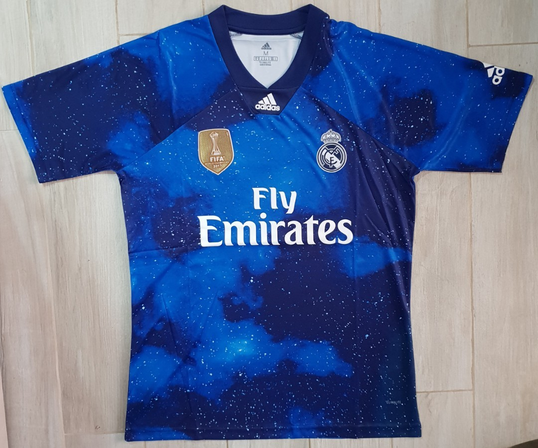 premium selection 4b69a dad6e Real Madrid EA sports jersey