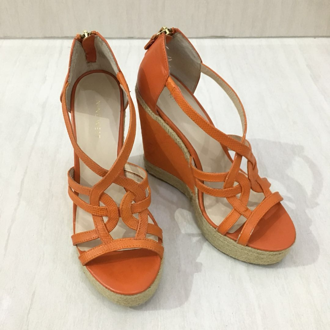 Reprice ! Like New! Nine West Wedges (Authentic) (Sepatu Wanita ... ea292744e0
