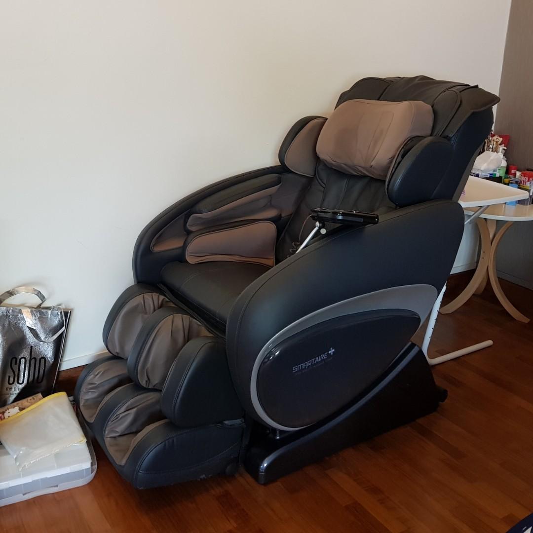 Second Hand Ogawa Smartaire Plus Zero Gravity Massage Chair Health