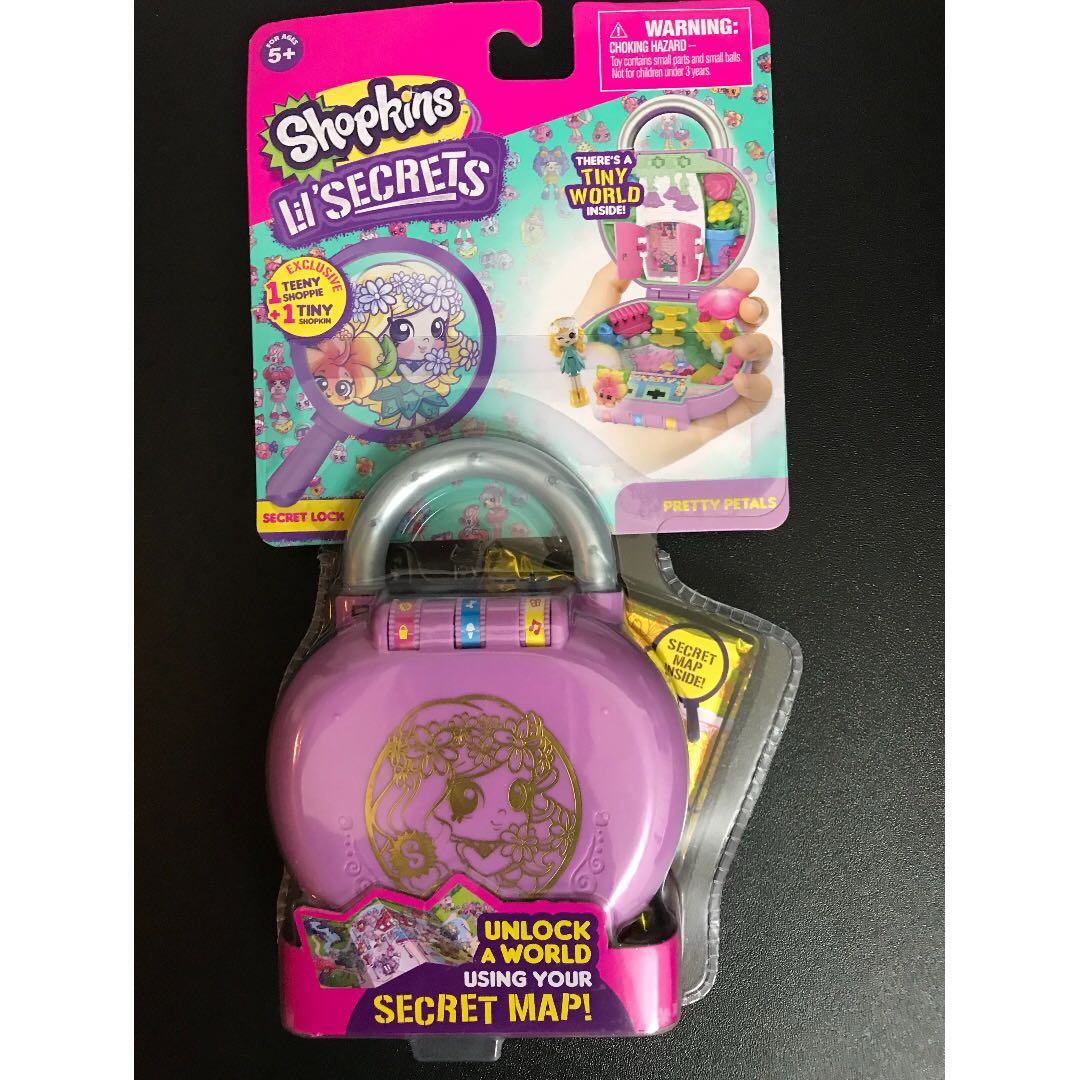 aefac33ef99 Shopkins Lil  Secrets Secret Lock - Pretty Petals