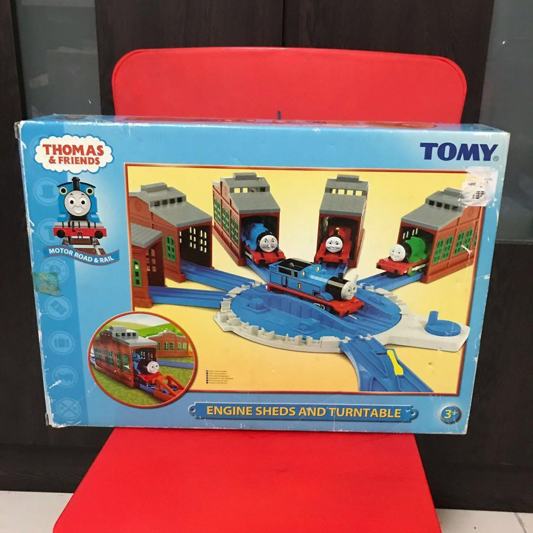 Sensational Thomas The Train Engine Sheds And Turntable Toys Games Home Remodeling Inspirations Genioncuboardxyz