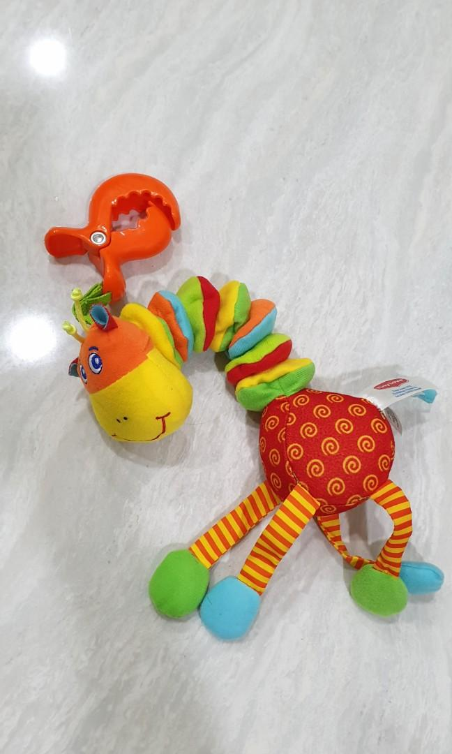 Tiny love giraffe stroller toys vibrate