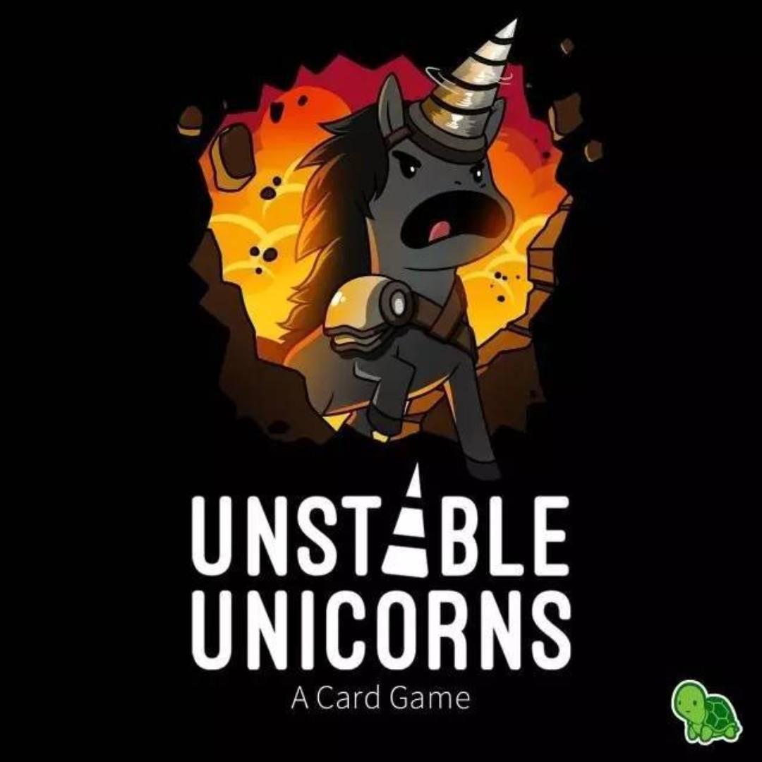 Unstable Unicorns 不安分的獨角獸 kickstarter 成功 桌遊 破壞友情遊戲