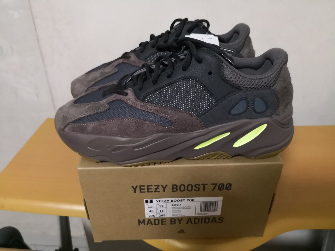 29c05f08e5d US11.5 UK11 EUR46 Yeezy Boost 700 Mauve - authentic