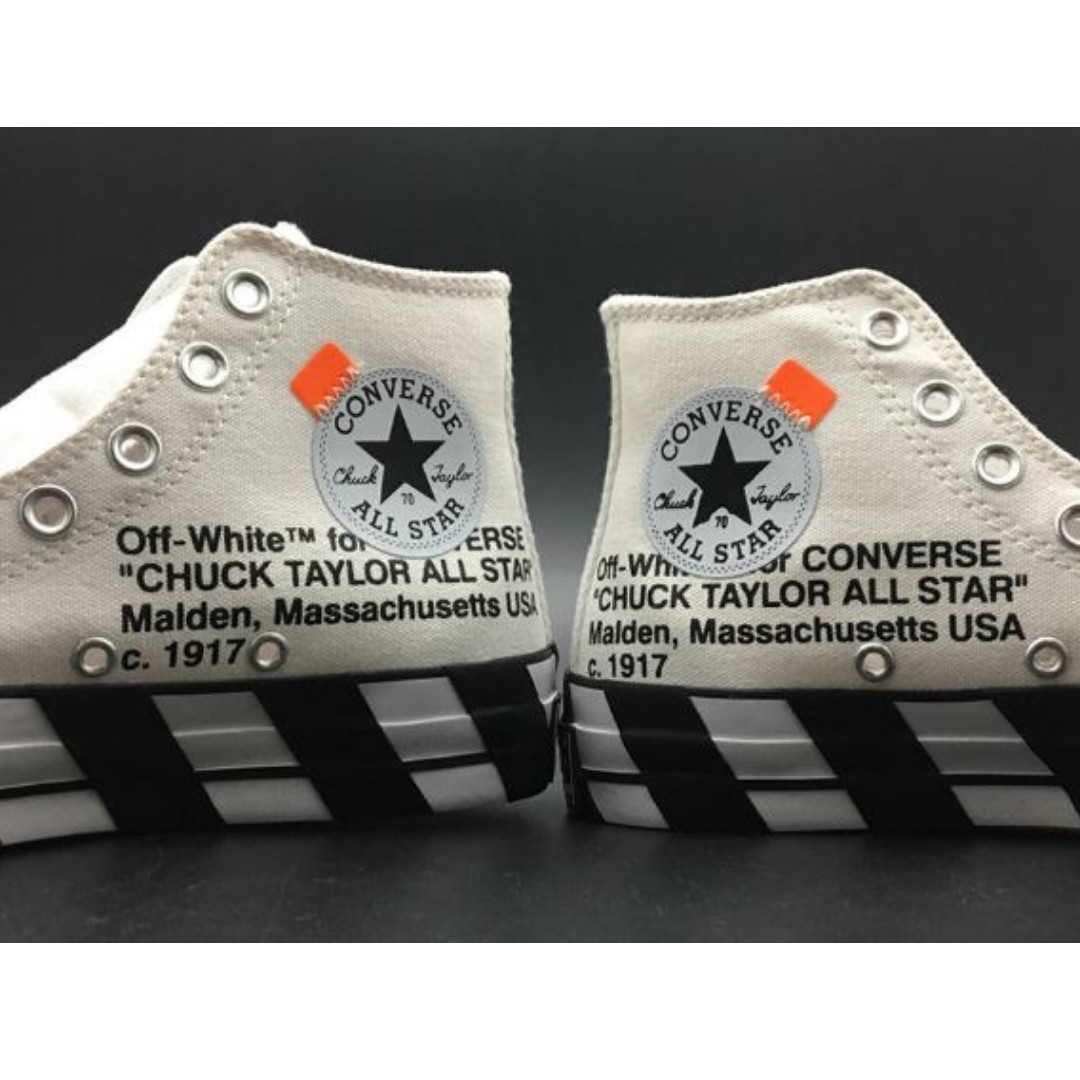51713e9d2f5 US7  US7 Converse Chuck Taylor All-Star 70s Hi Off-White 2.0 - 163862C