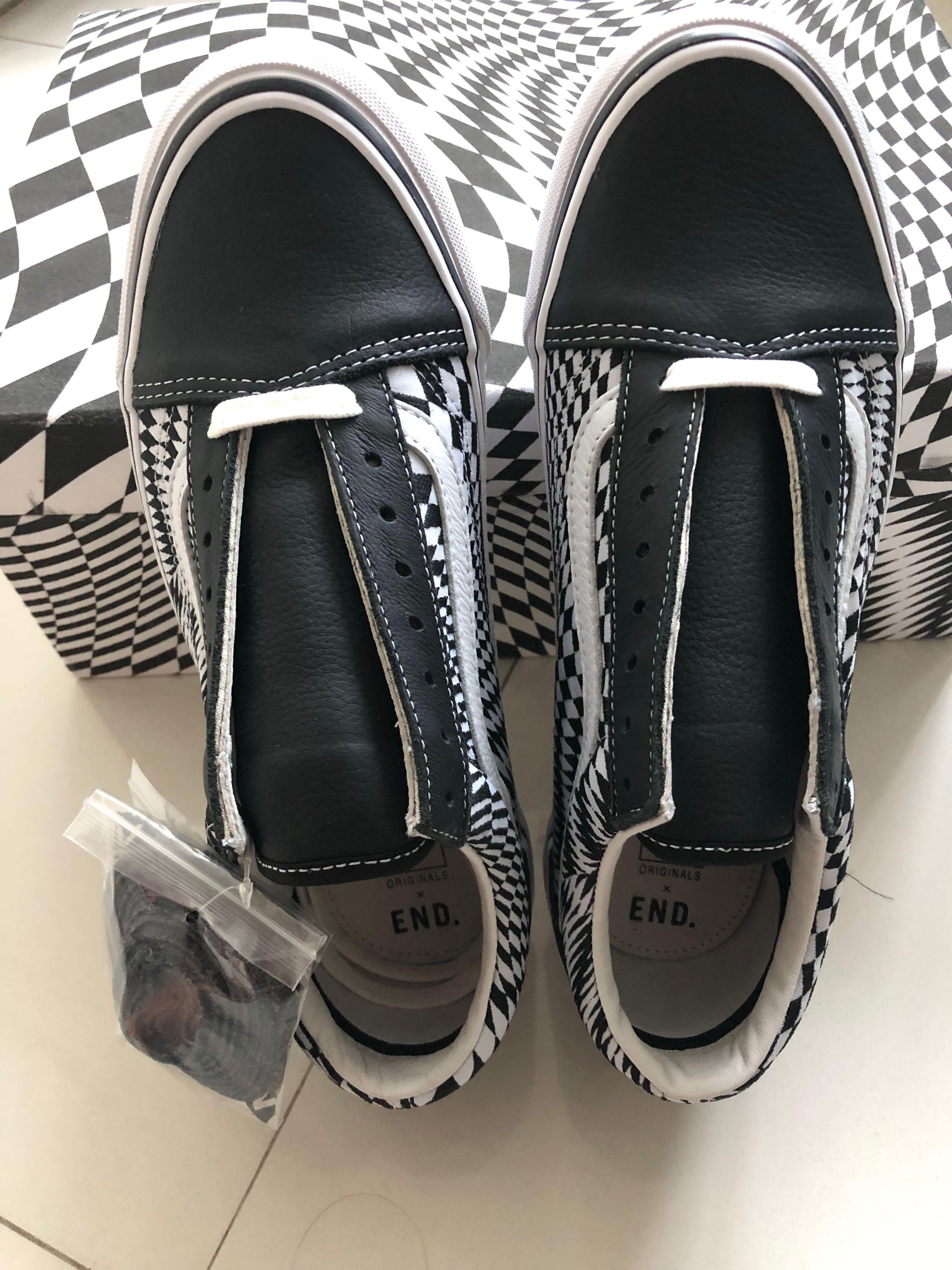 """72e32059a01 Vans x End Old Skool LX """"Vertigo"""" shoes"""