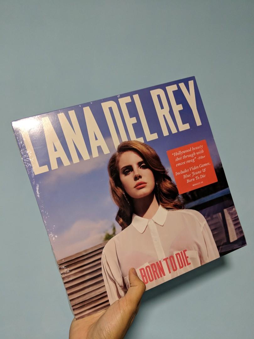 Vinyl Lp Lana Del Rey Born To Die Music Media Cds Dvds Other Media On Carousell