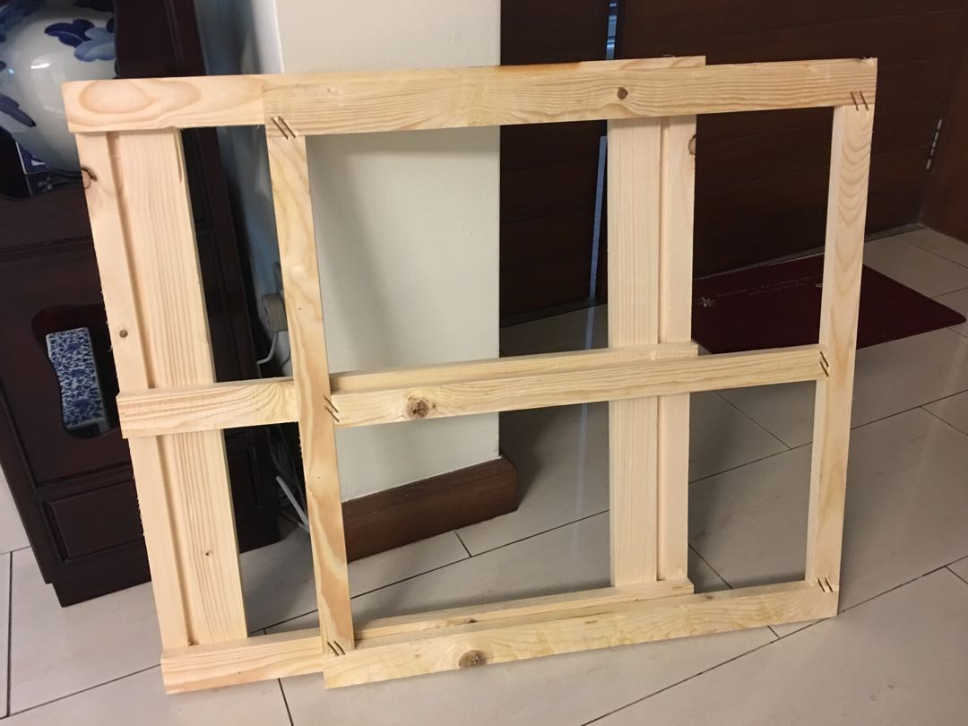 Pleasant Wooden Pallet And Frames Home Interior And Landscaping Ymoonbapapsignezvosmurscom