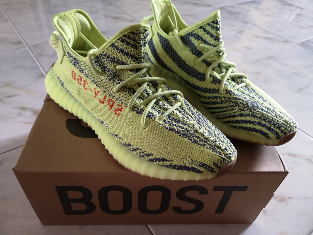 ad51b131adcc9 Yeezy Boost 350 V2 Semi frozen yellow