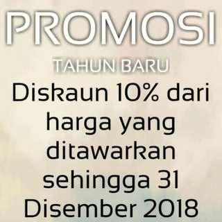 Promo 10% Untuk Semua Produk Diiklankan