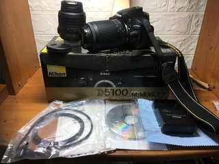 🚚 Nikon D5100+18-55+55-250