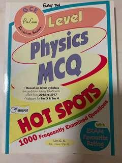 Assessment Books - Physics MCQ (sec 3 & 4) Revision Series.