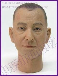 "1/6 HeadPlay Anthony Wong Head Sculpt 12"" 黄秋生 ip man"