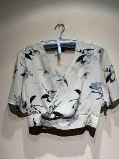 Crop Top -Dove