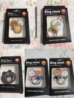 ✨買二送一 line friends 熊大 cony 手機指環 手機扣 Ring Stent