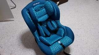 Child safety seat 0-4 year old front/back facing