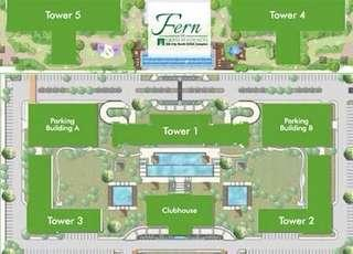 1 Bedroom Unit Fern at Grass Residences Tower 5 (Brand New)
