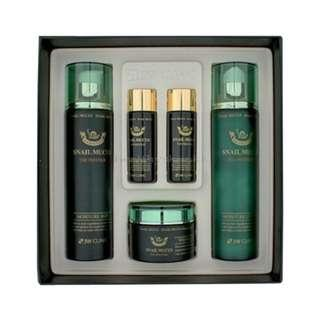 3W CLINIC Snail Mucus 3 Kinds Of Skin Care Set