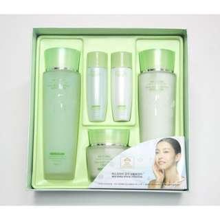3W CLINIC Snail Moist Control Skincare 3 Kit Set