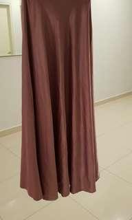 Dusty Pink Cinderella Skirt