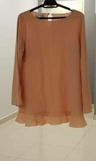 Variante Peach blouse