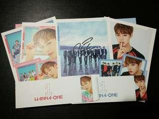 WANNA ONE PARK JIHOON ALBUMS SET