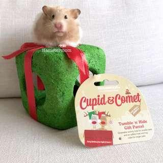 Rosewood Christmas Tumble-n-Hide Gift Parcel Hamster Activity Toy