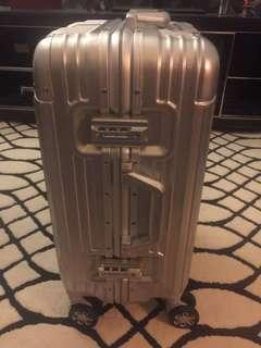 Aluminium Steel Luggage with two lock