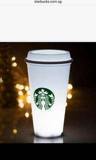 Starbucks x Meykrs White Cup LED Lamp