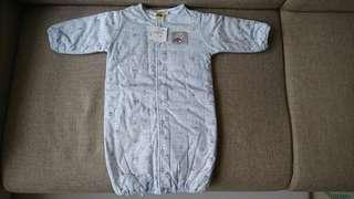 🚚 【全新】愛的世界 純棉鋪棉兩用嬰衣/睡袋